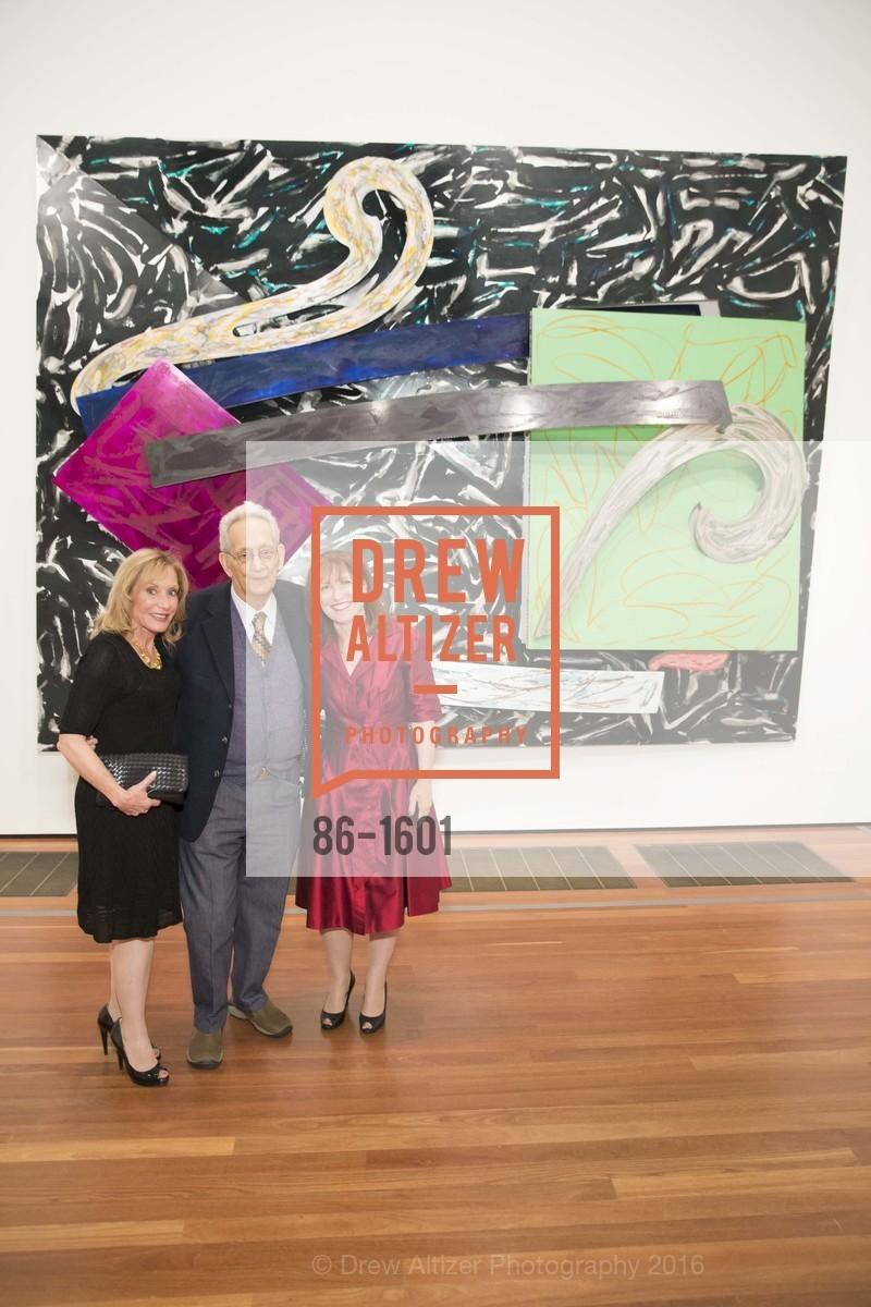 Ayn Grinstein, Frank Stella, Ellen Grinstein, Photo #86-1601