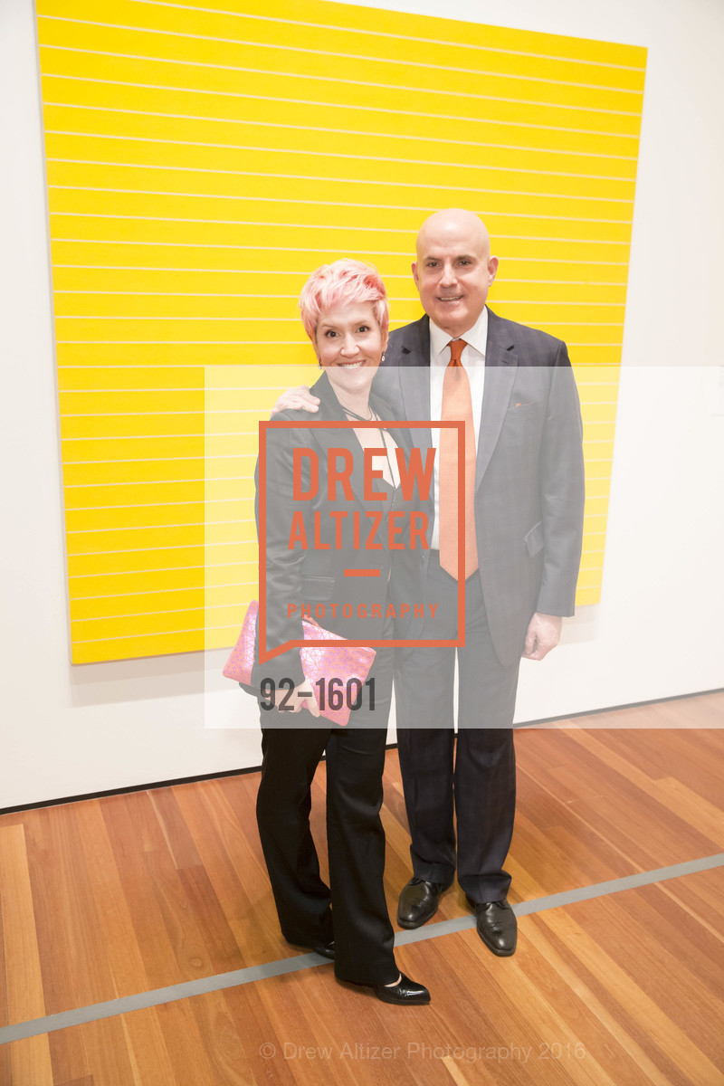 Lisa Sardegna, Larry Block, Dinner with Frank Stella at the de Young, de Young Museum. 2525 Van Ness St, November 16th, 2016