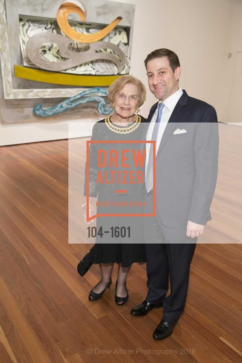 Dorothy Saxe, David Saxe, Dinner with Frank Stella at the de Young, de Young Museum. 2525 Van Ness St, November 16th, 2016