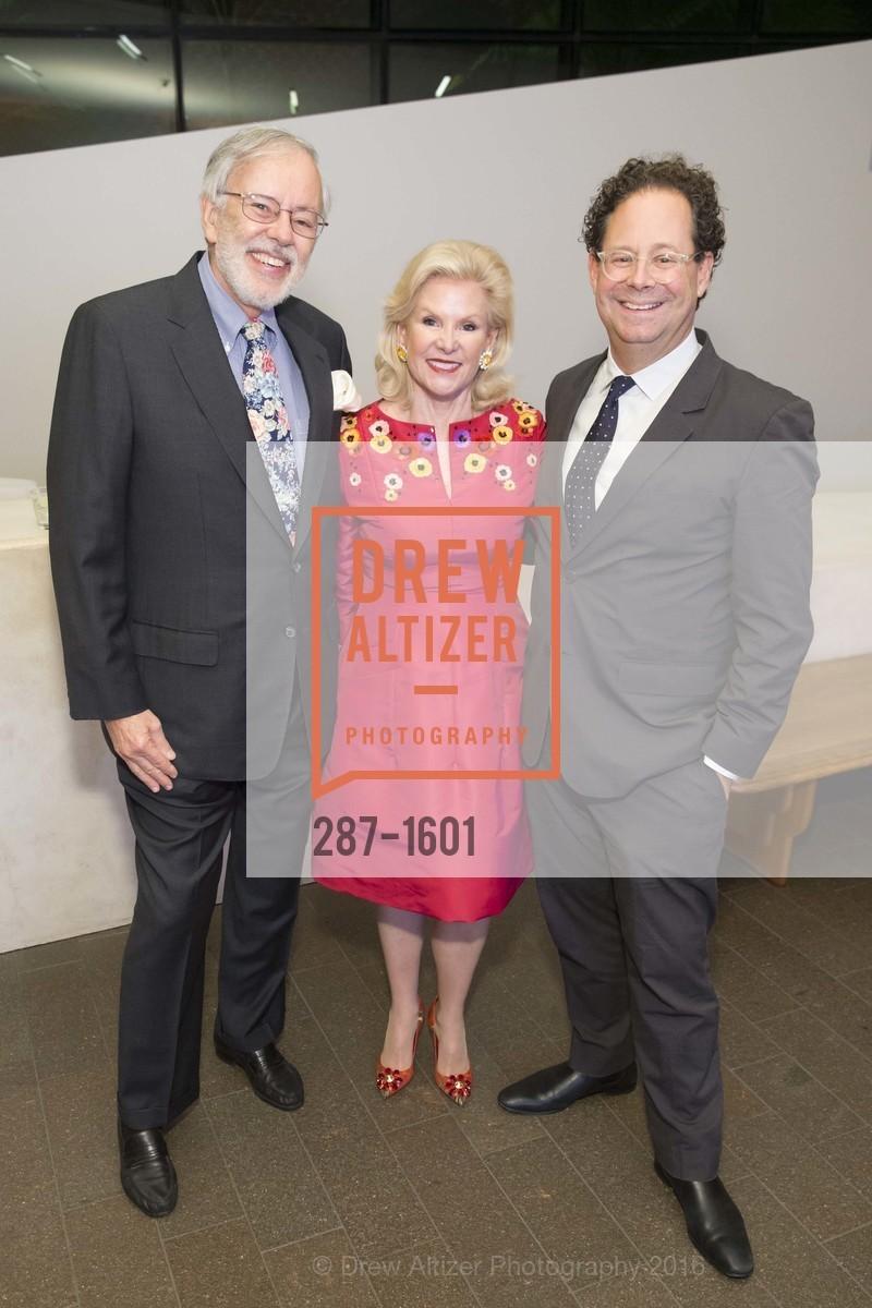 Richard Greenfield, Dede Wilsey, Adam Weinberg, Photo #287-1601