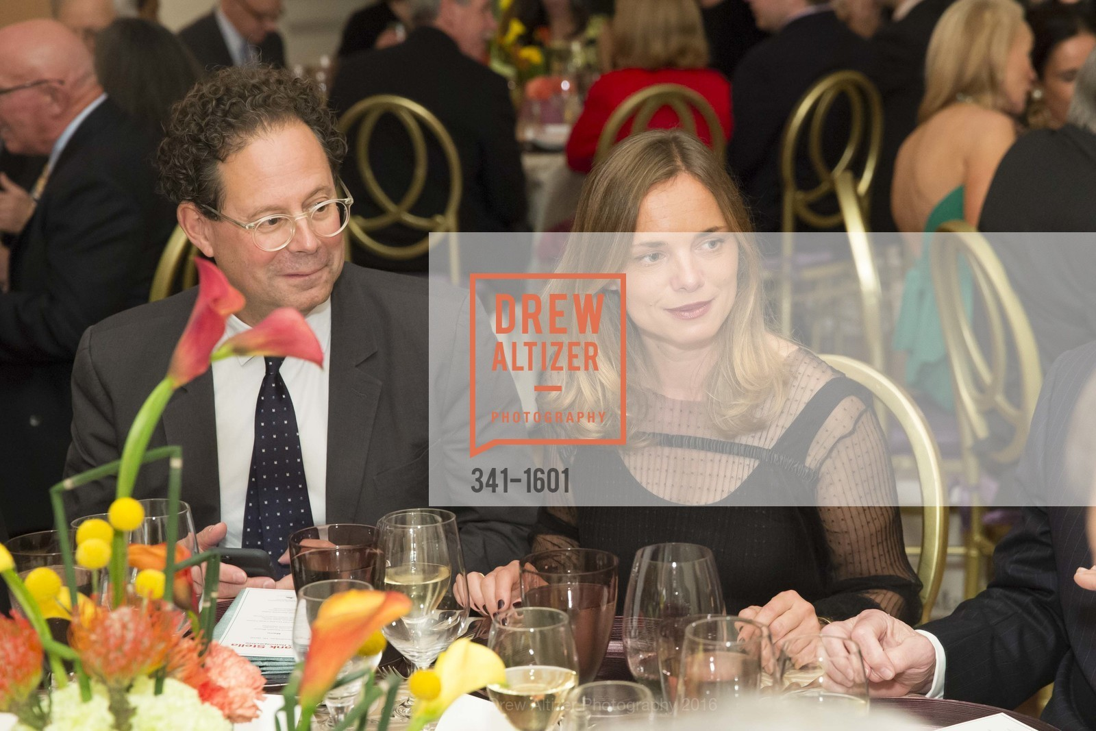 Adam Weinberg, Nina Hollein, Dinner with Frank Stella at the de Young, de Young Museum. 2525 Van Ness St, November 16th, 2016