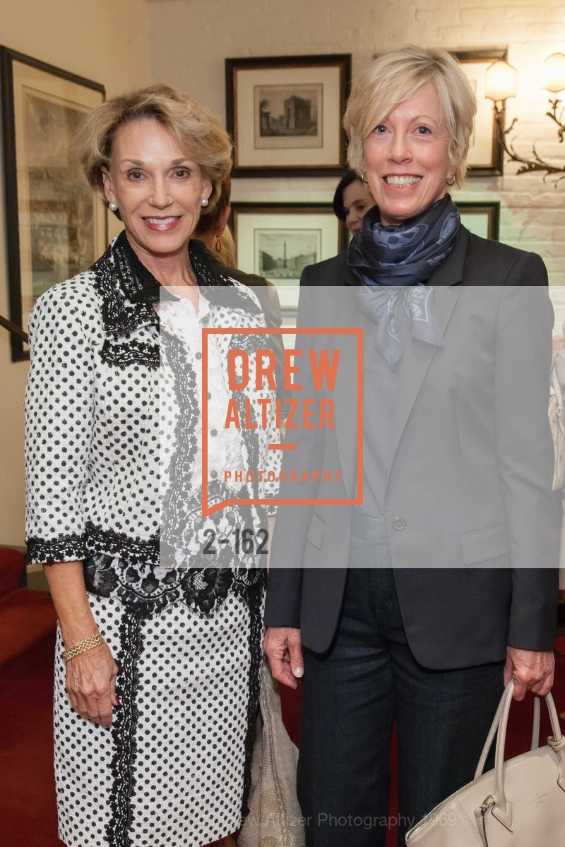 Carol Parker, Wanda Kownacki, National Museum of Women in the Arts Luncheon Hosted by Lorna Meyer Calas, Villa Taverna. 27 Hotaling Place, June 14th, 2015,Drew Altizer, Drew Altizer Photography, full-service agency, private events, San Francisco photographer, photographer california