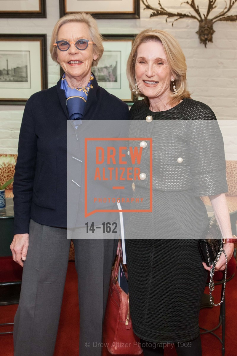 Barbro Osher, Lorna Meyer Calas, National Museum of Women in the Arts Luncheon Hosted by Lorna Meyer Calas, Villa Taverna. 27 Hotaling Place, June 14th, 2015,Drew Altizer, Drew Altizer Photography, full-service agency, private events, San Francisco photographer, photographer california