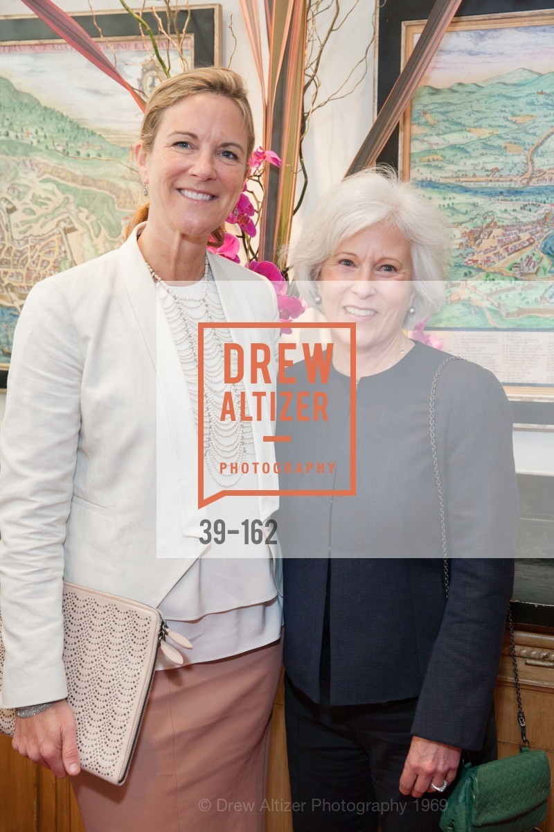 Lisa Dolby Chadwick, Mickie Anderson, National Museum of Women in the Arts Luncheon Hosted by Lorna Meyer Calas, Villa Taverna. 27 Hotaling Place, June 14th, 2015,Drew Altizer, Drew Altizer Photography, full-service agency, private events, San Francisco photographer, photographer california