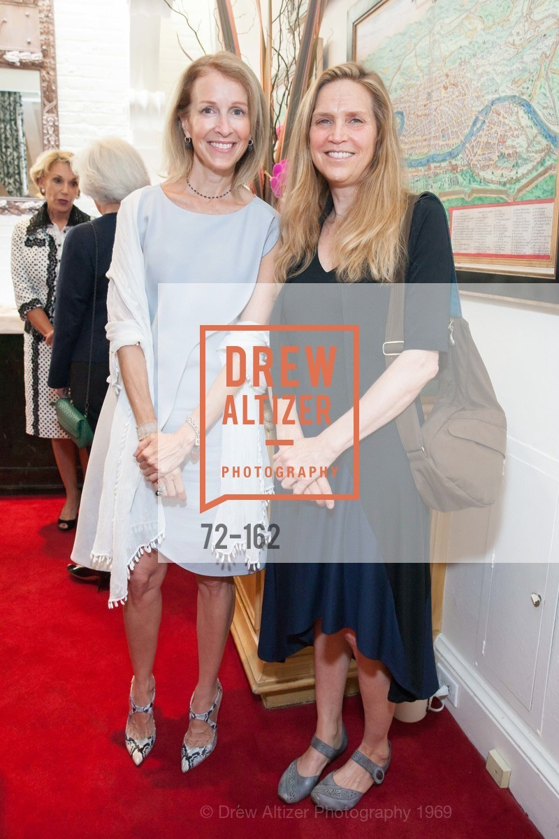 Angela McConnell, Dana Babin, National Museum of Women in the Arts Luncheon Hosted by Lorna Meyer Calas, Villa Taverna. 27 Hotaling Place, June 14th, 2015