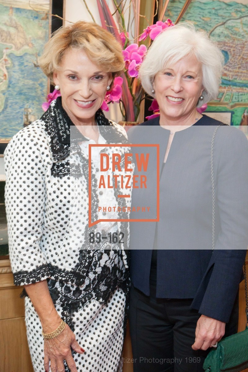 Carol Parker, Mickie Anderson, National Museum of Women in the Arts Luncheon Hosted by Lorna Meyer Calas, Villa Taverna. 27 Hotaling Place, June 14th, 2015,Drew Altizer, Drew Altizer Photography, full-service agency, private events, San Francisco photographer, photographer california