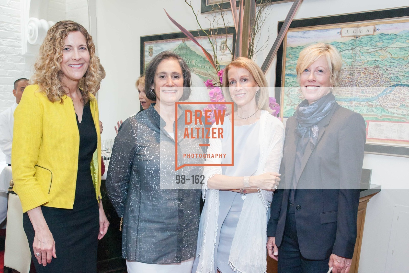 Joanne Northrup, Susan Sterling, Angela McConnell, Wanda Kownacki, National Museum of Women in the Arts Luncheon Hosted by Lorna Meyer Calas, Villa Taverna. 27 Hotaling Place, June 14th, 2015,Drew Altizer, Drew Altizer Photography, full-service event agency, private events, San Francisco photographer, photographer California