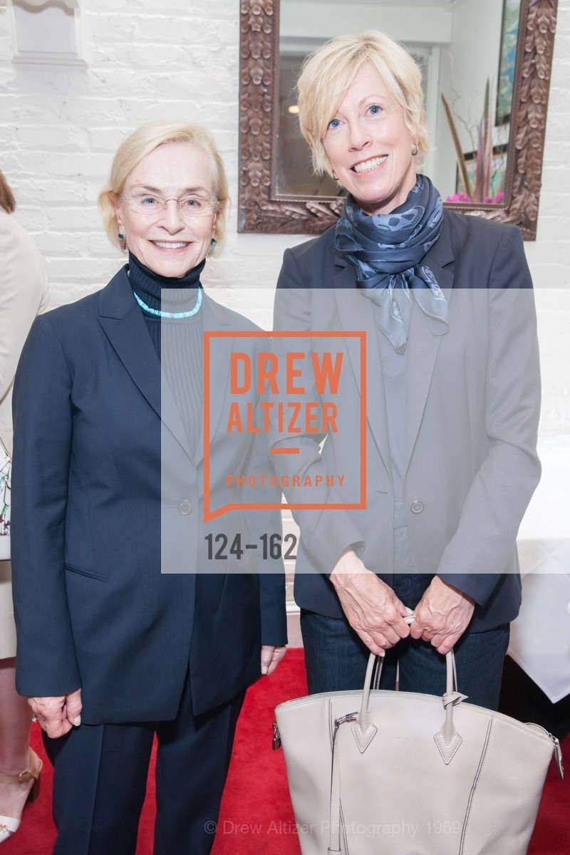 Judy Timpton, Wanda Kownacki, National Museum of Women in the Arts Luncheon Hosted by Lorna Meyer Calas, Villa Taverna. 27 Hotaling Place, June 14th, 2015,Drew Altizer, Drew Altizer Photography, full-service agency, private events, San Francisco photographer, photographer california