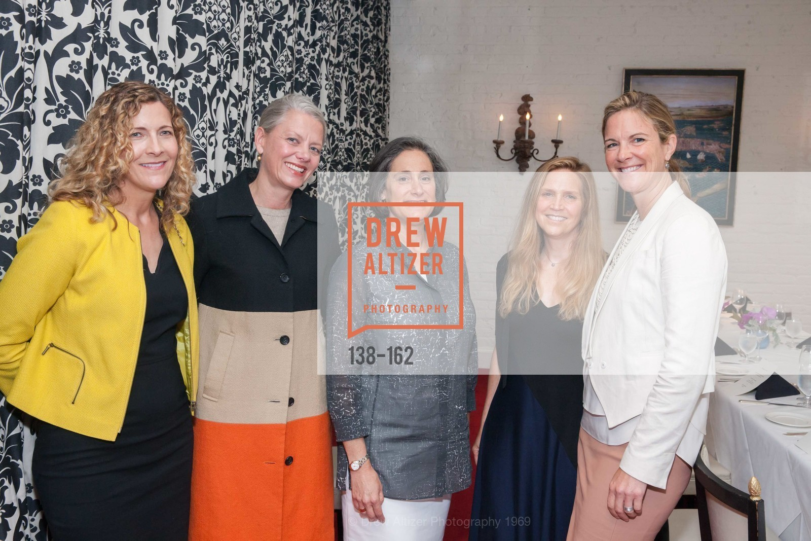 Joanne Northrup, Catharine Clark, Susan Sterling, Dana, Lisa Dolby Chadwick, National Museum of Women in the Arts Luncheon Hosted by Lorna Meyer Calas, Villa Taverna. 27 Hotaling Place, June 14th, 2015,Drew Altizer, Drew Altizer Photography, full-service agency, private events, San Francisco photographer, photographer california