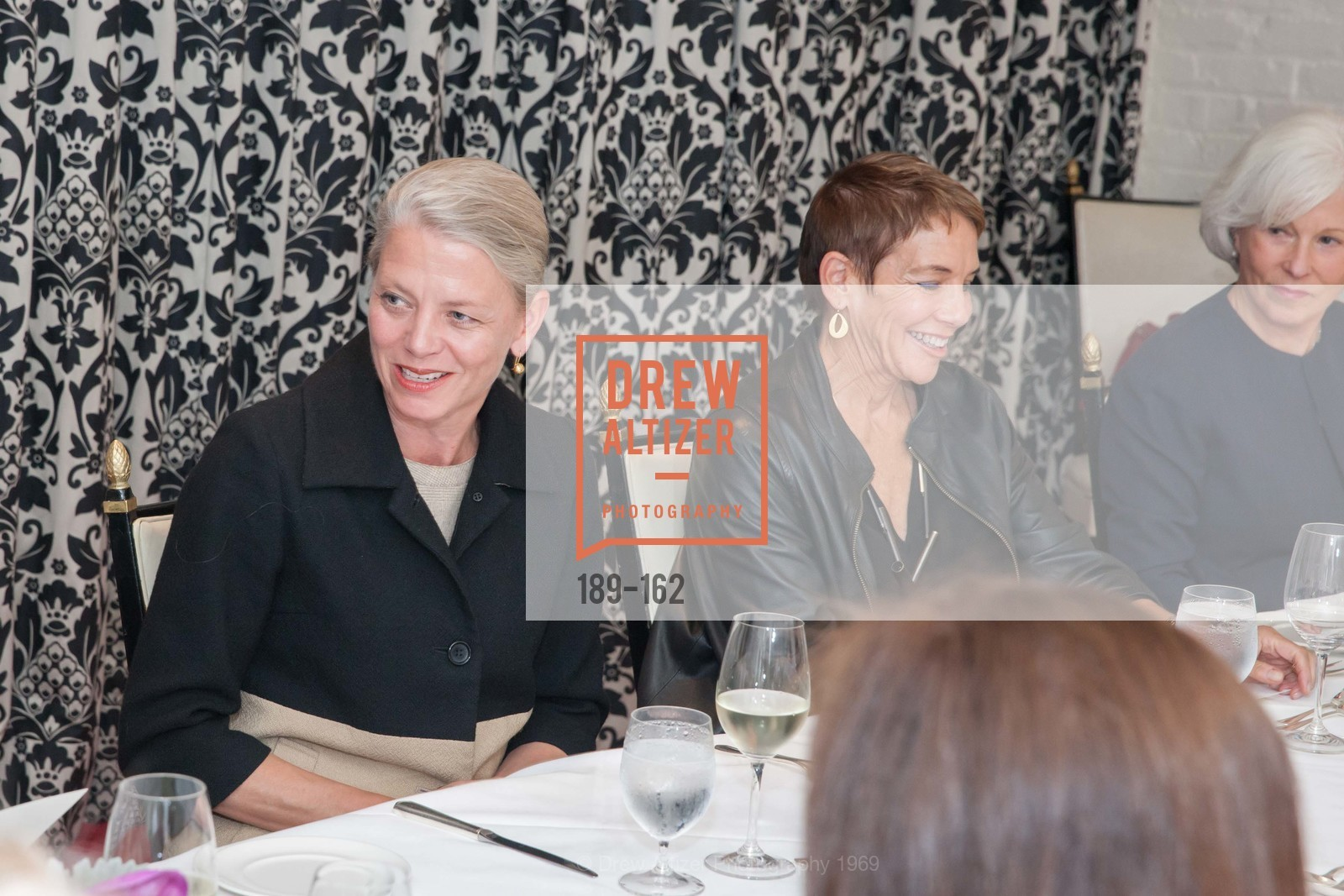 Catharine Clark, National Museum of Women in the Arts Luncheon Hosted by Lorna Meyer Calas, Villa Taverna. 27 Hotaling Place, June 14th, 2015,Drew Altizer, Drew Altizer Photography, full-service agency, private events, San Francisco photographer, photographer california