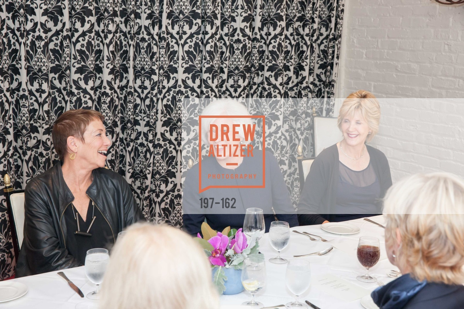 Mickie Anderson, National Museum of Women in the Arts Luncheon Hosted by Lorna Meyer Calas, Villa Taverna. 27 Hotaling Place, June 14th, 2015,Drew Altizer, Drew Altizer Photography, full-service agency, private events, San Francisco photographer, photographer california