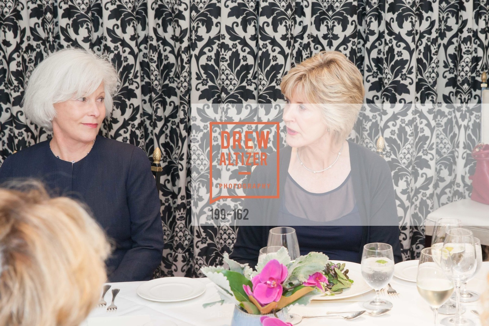Mickie Anderson, Jo Eriko, National Museum of Women in the Arts Luncheon Hosted by Lorna Meyer Calas, Villa Taverna. 27 Hotaling Place, June 14th, 2015,Drew Altizer, Drew Altizer Photography, full-service event agency, private events, San Francisco photographer, photographer California