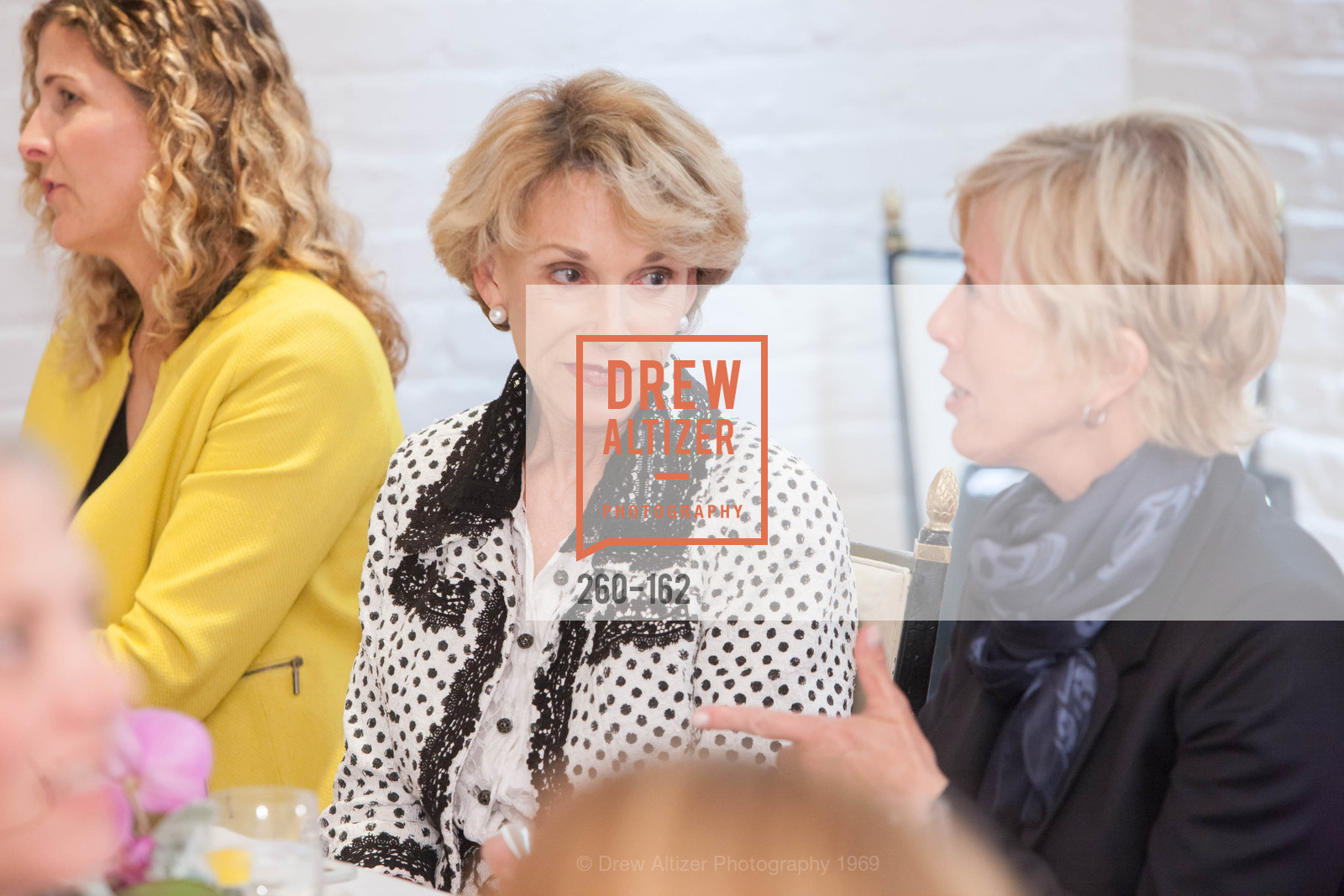 Carol Parker, National Museum of Women in the Arts Luncheon Hosted by Lorna Meyer Calas, Villa Taverna. 27 Hotaling Place, June 14th, 2015,Drew Altizer, Drew Altizer Photography, full-service agency, private events, San Francisco photographer, photographer california