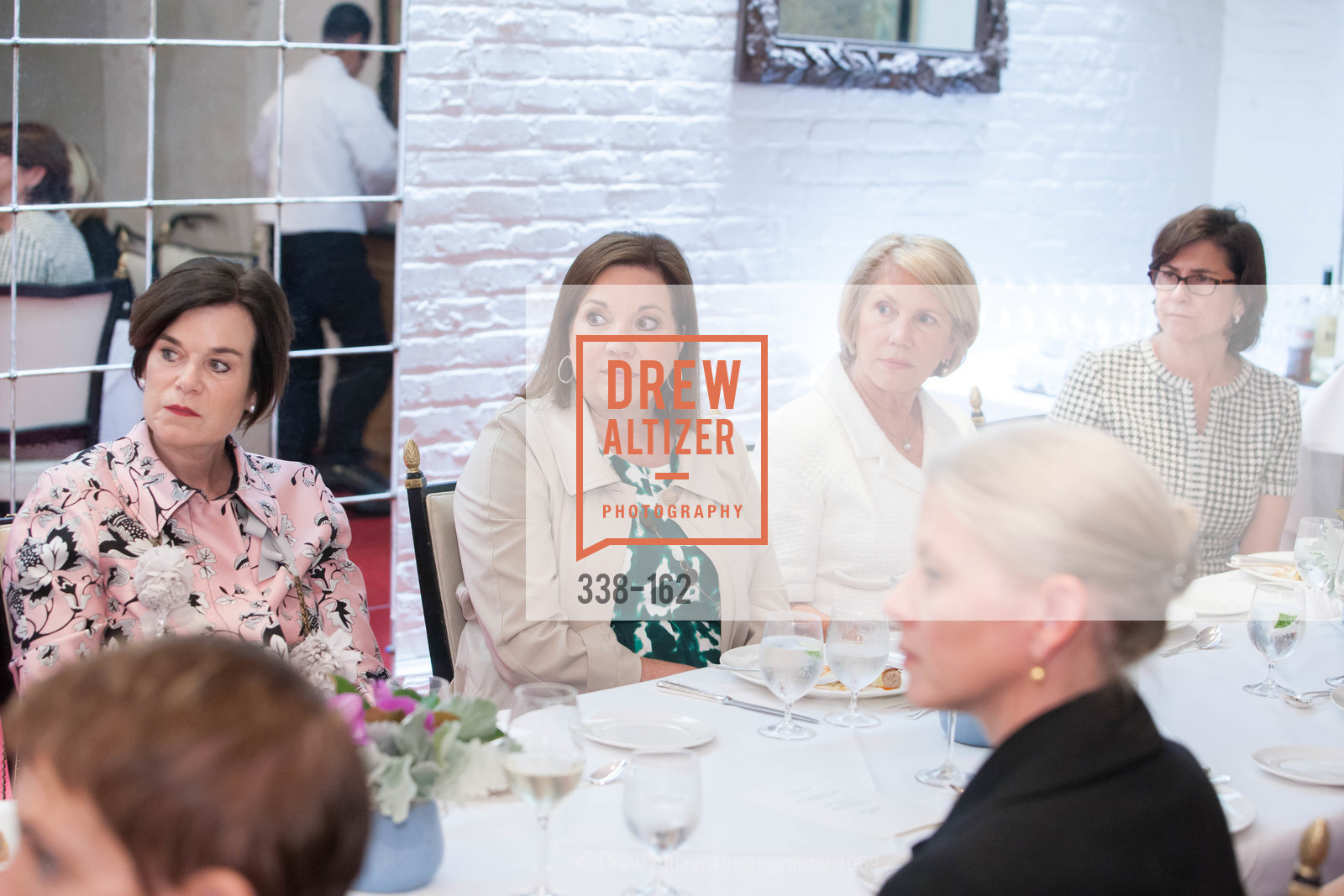 Lucy Buchanan, Kim Swig, Patricia Fitzpatrick, Ellen Drew, National Museum of Women in the Arts Luncheon Hosted by Lorna Meyer Calas, Villa Taverna. 27 Hotaling Place, June 14th, 2015,Drew Altizer, Drew Altizer Photography, full-service agency, private events, San Francisco photographer, photographer california