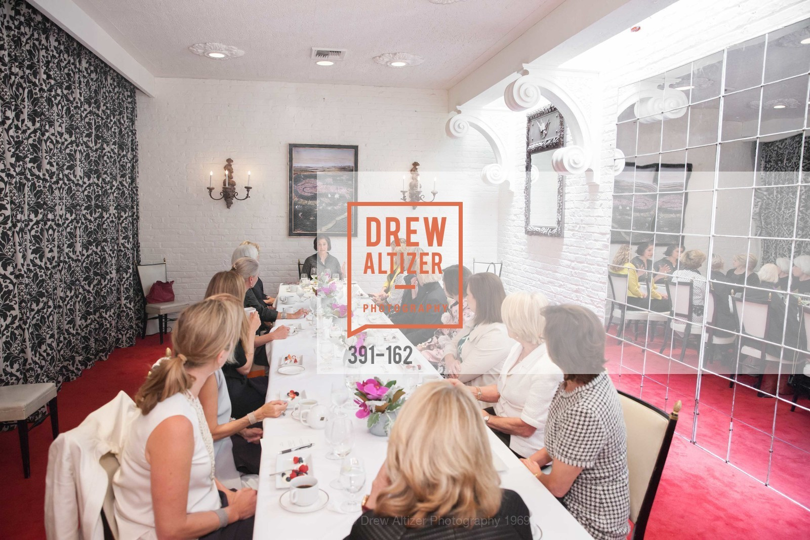 Atmosphere, National Museum of Women in the Arts Luncheon Hosted by Lorna Meyer Calas, Villa Taverna. 27 Hotaling Place, June 14th, 2015,Drew Altizer, Drew Altizer Photography, full-service agency, private events, San Francisco photographer, photographer california