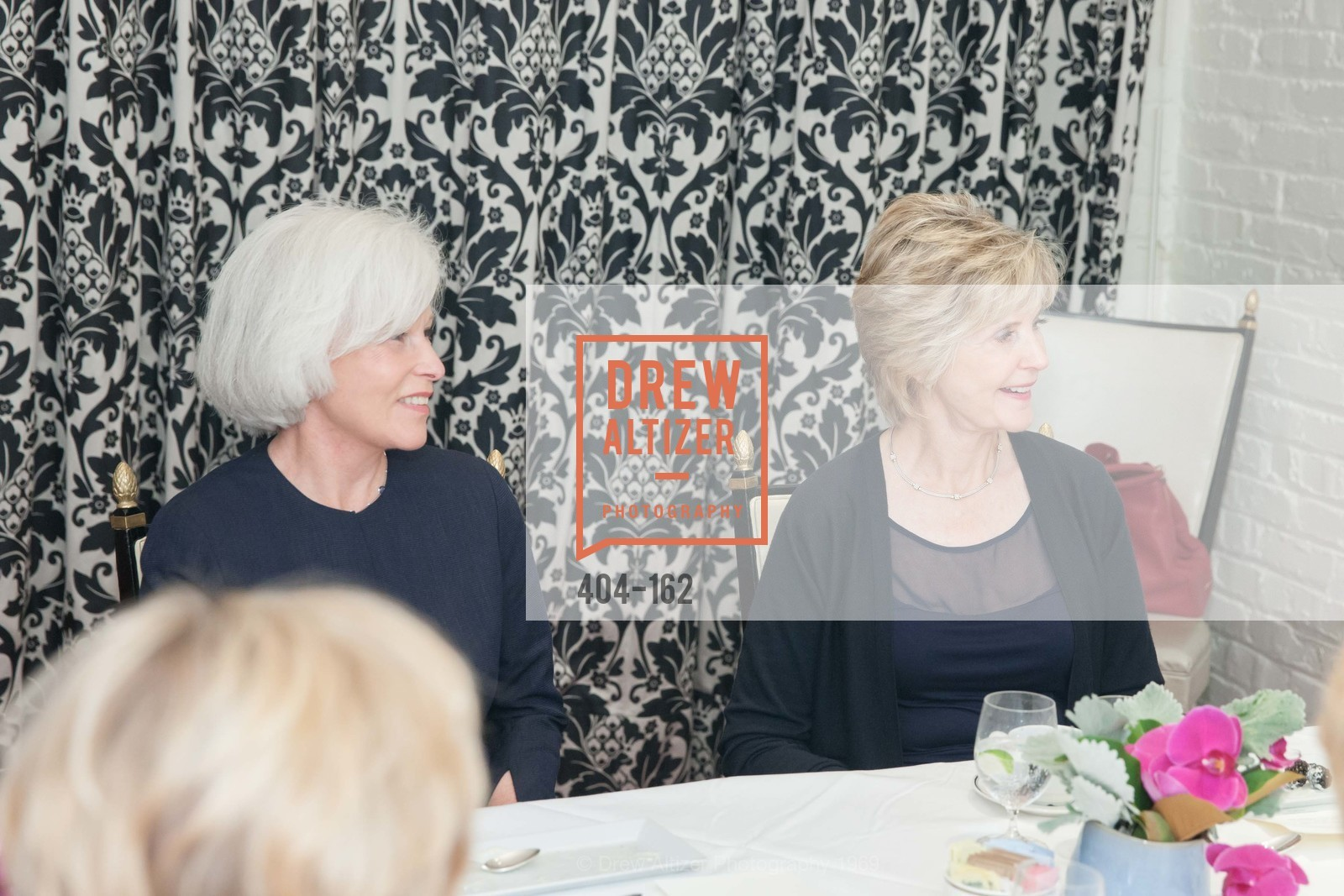Mickie Anderson, Jo Eriko, National Museum of Women in the Arts Luncheon Hosted by Lorna Meyer Calas, Villa Taverna. 27 Hotaling Place, June 14th, 2015,Drew Altizer, Drew Altizer Photography, full-service agency, private events, San Francisco photographer, photographer california