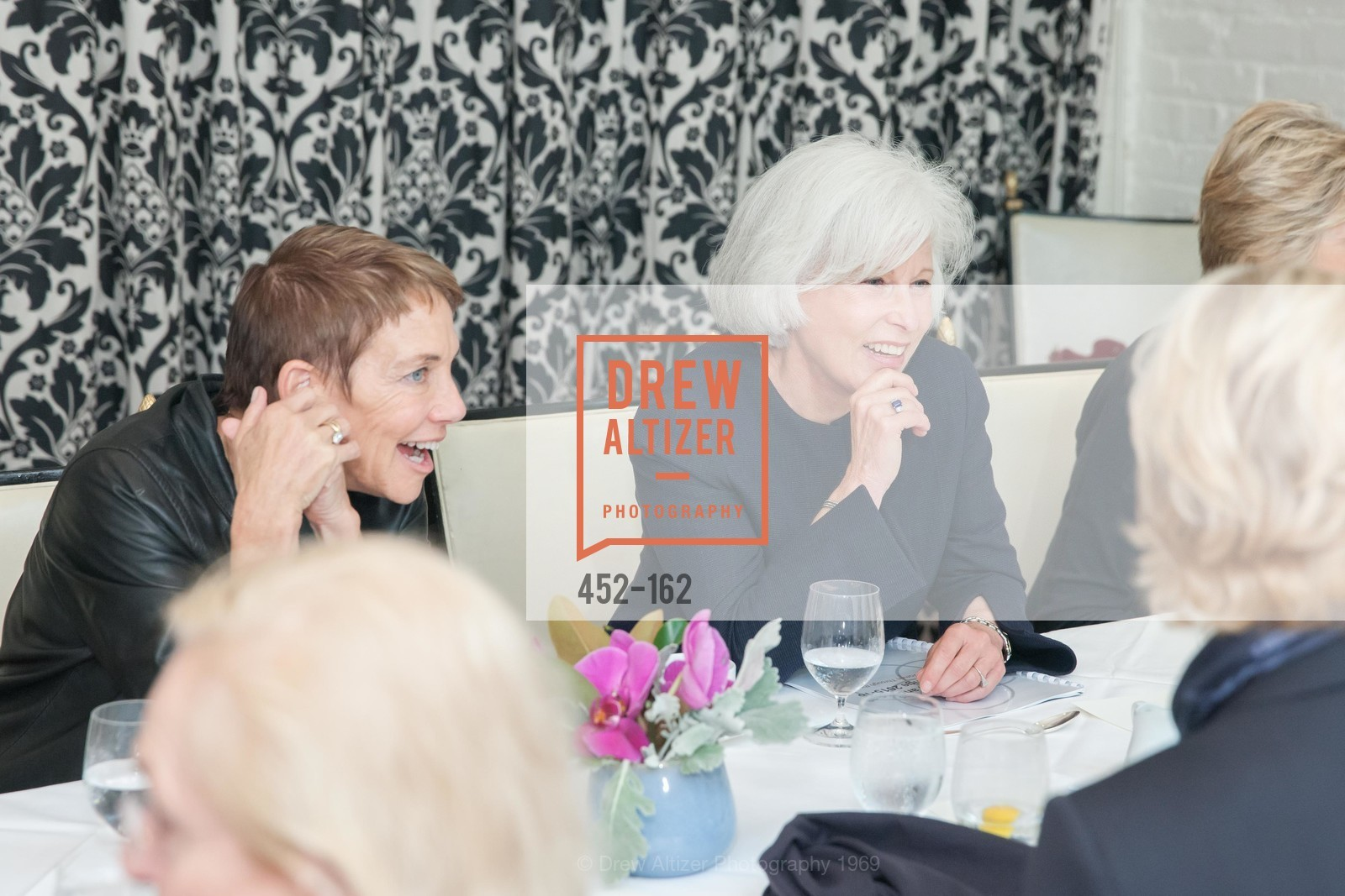 Tracy Freedman, Mickie Anderson, National Museum of Women in the Arts Luncheon Hosted by Lorna Meyer Calas, Villa Taverna. 27 Hotaling Place, June 14th, 2015,Drew Altizer, Drew Altizer Photography, full-service agency, private events, San Francisco photographer, photographer california