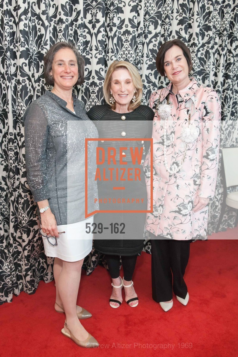 Susan Sterling, Lorna Meyer Calas, Lucy Buchanan, National Museum of Women in the Arts Luncheon Hosted by Lorna Meyer Calas, Villa Taverna. 27 Hotaling Place, June 14th, 2015