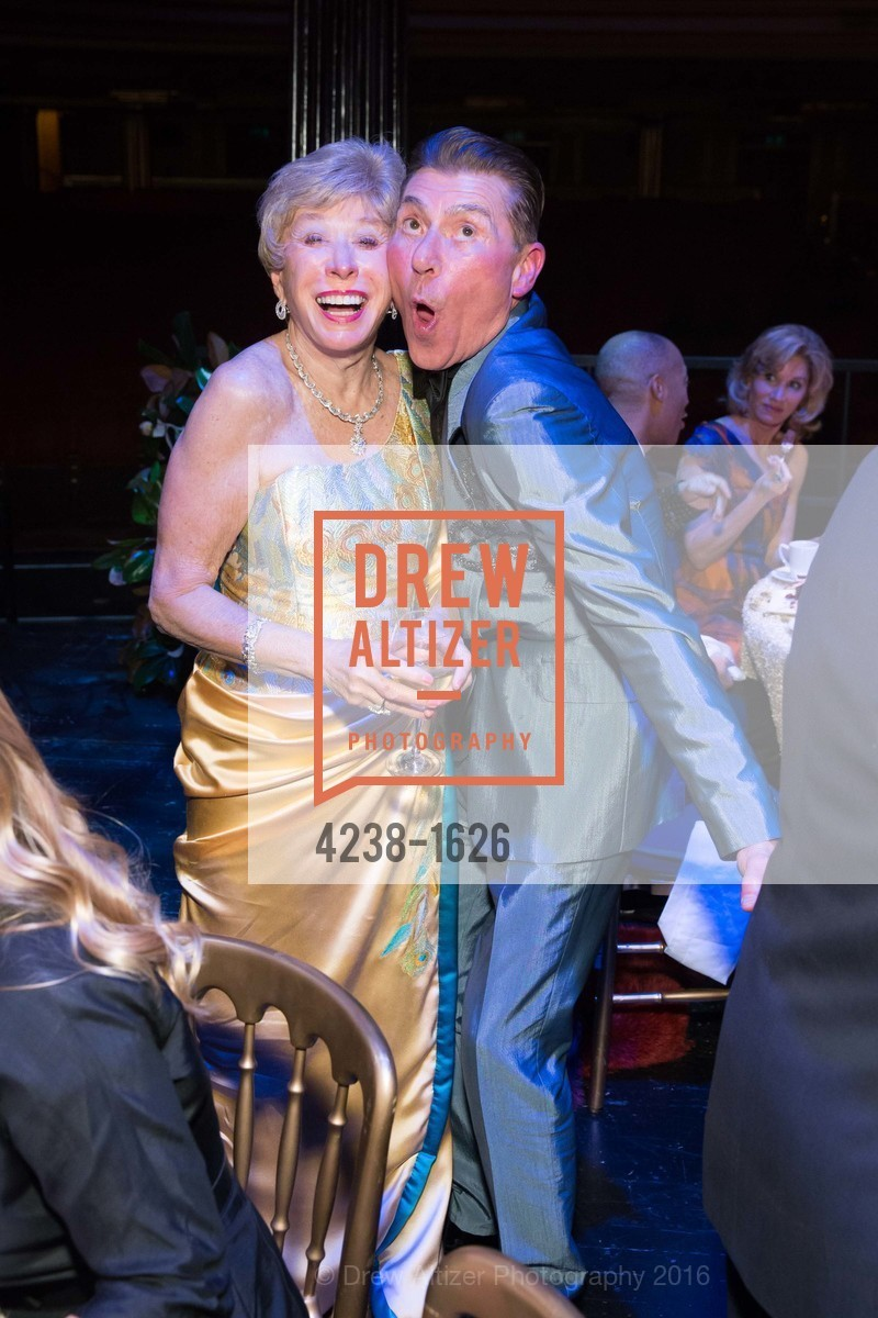 Maria Pitcairn, Robert Beadle, SF Opera's An Evening on the Stage honoring Franklin P. (
