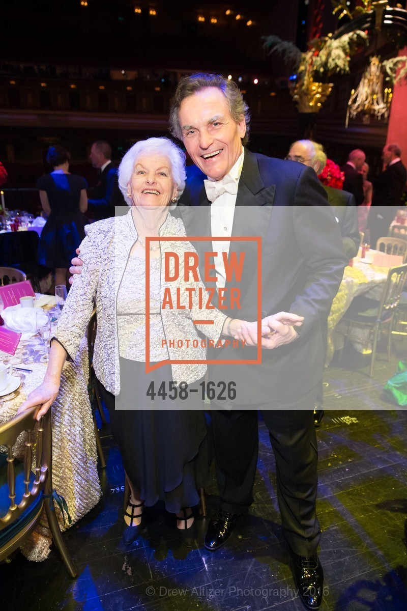 Peggy Nute, David Birka-White, SF Opera's An Evening on the Stage honoring Franklin P. (