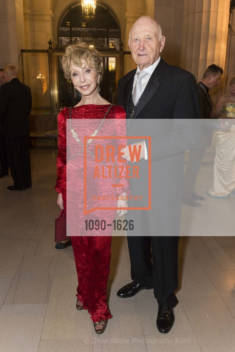 Roberta Sherman, Jerry Grodsky, SF Opera's An Evening on the Stage honoring Franklin P. (