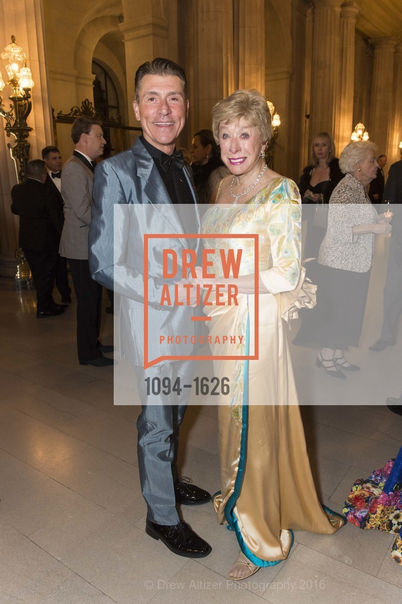 Robert Beadle, Maria Pitcairn, SF Opera's An Evening on the Stage honoring Franklin P. (