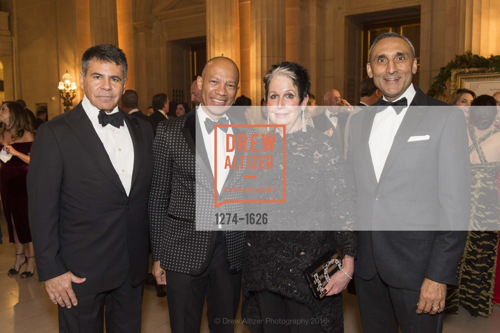 Gary Garabedian, Ken McNeely, Karen Kubin, Inder Dhillon, Photo #1274-1626