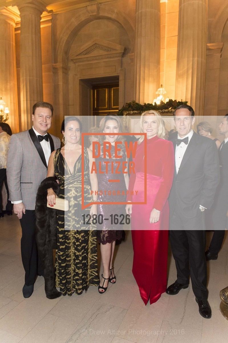Doug Waggener, Natalia Urrutia, Ceci Aviles, Linle Froeb, James Froeb, SF Opera's An Evening on the Stage honoring Franklin P. (