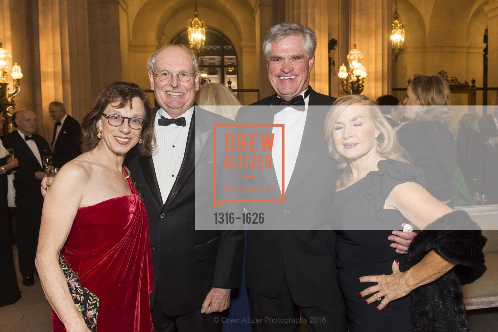 Diana Kissil, John Cullison, Brian Atwood, Lynn Edminster, SF Opera's An Evening on the Stage honoring Franklin P. (