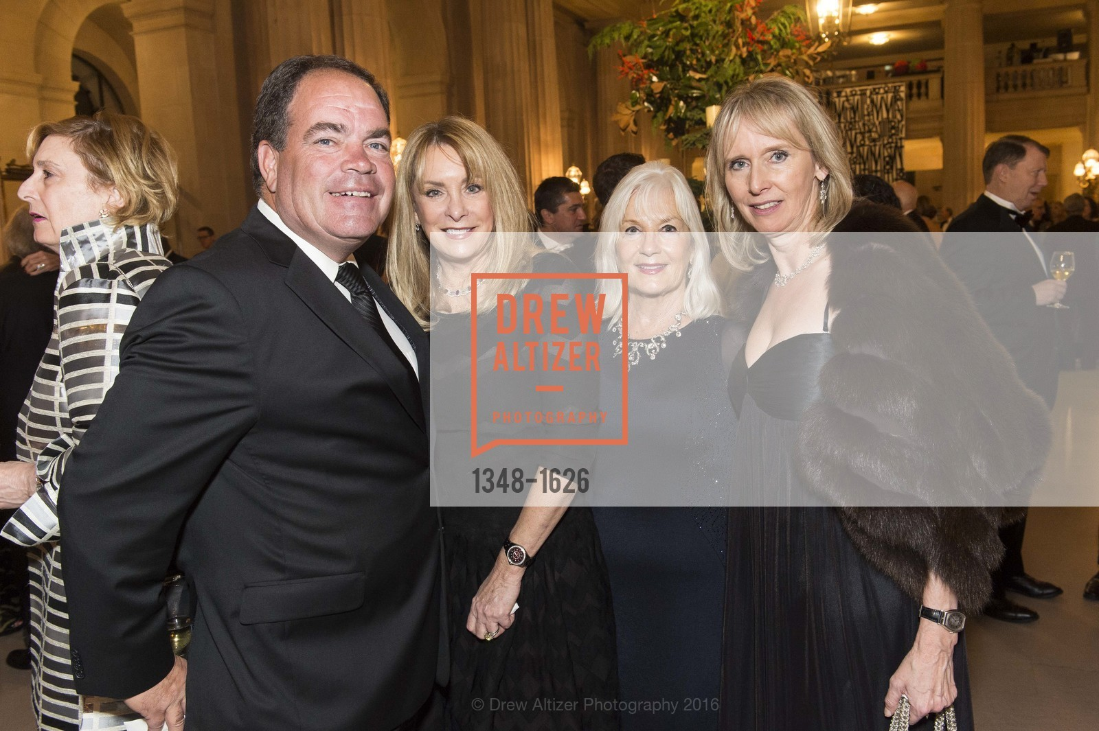 John Viszlay, Cathy MacNaughton, Arlene Inch, Sigrun Graeff, SF Opera's An Evening on the Stage honoring Franklin P. (