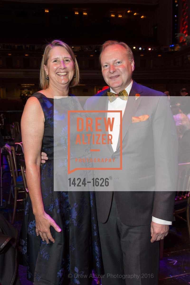 Priscilla Geeslin, Brian James, SF Opera's An Evening on the Stage honoring Franklin P. (