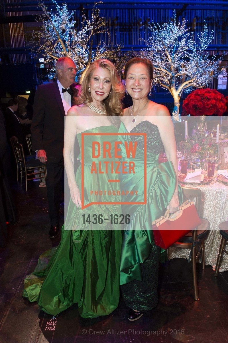 Teresa Medearis, Olivia Hsu Decker, SF Opera's An Evening on the Stage honoring Franklin P. (