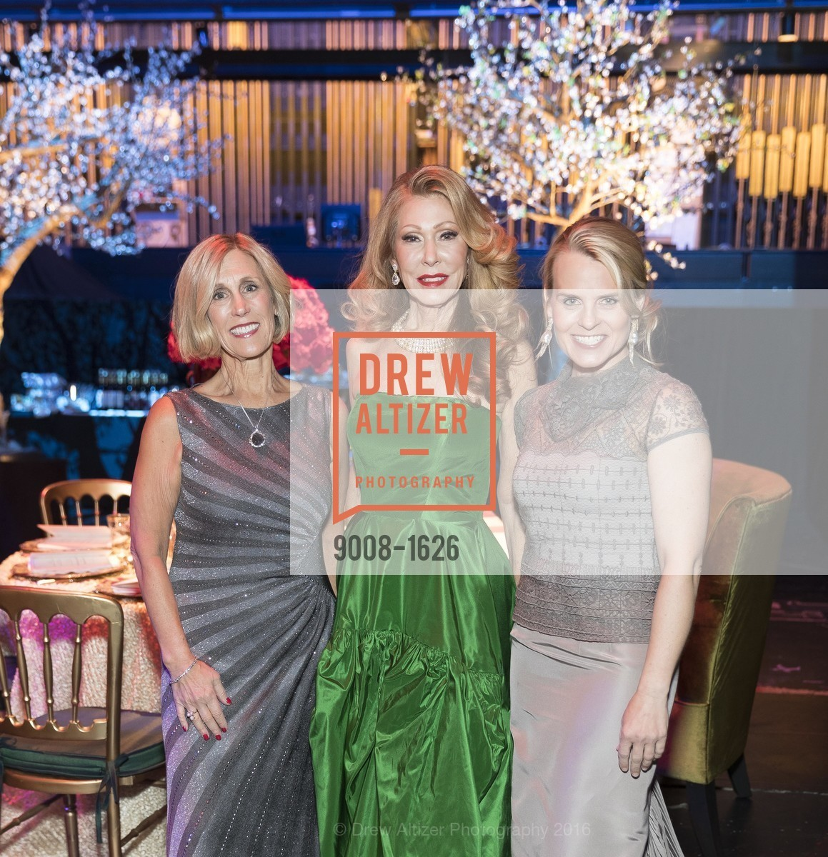 Kathy Huber, Teresa Medearis, Jane Mudge, SF Opera's An Evening on the Stage honoring Franklin P. (