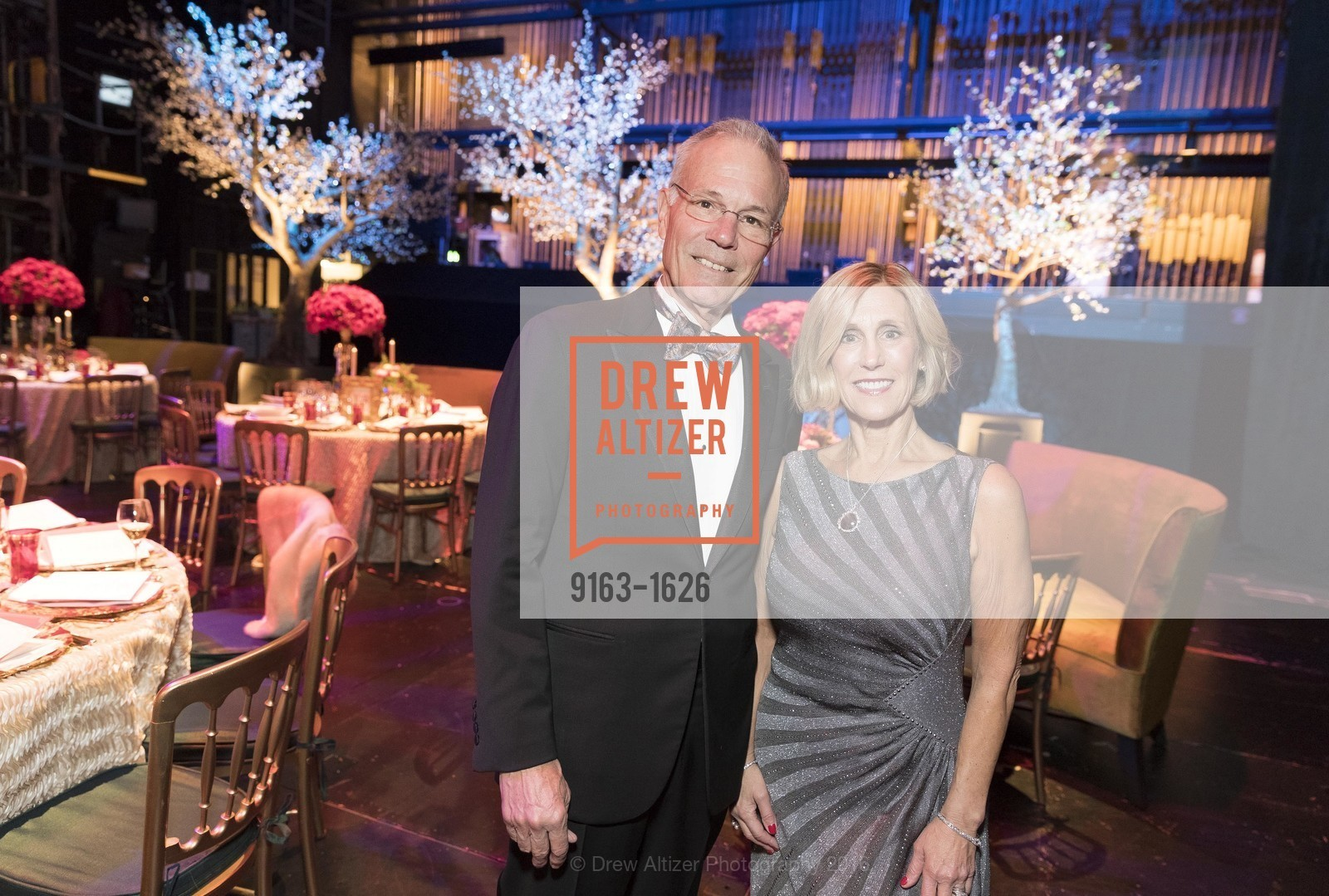 Larry Binkley, Kathy Huber, SF Opera's An Evening on the Stage honoring Franklin P. (