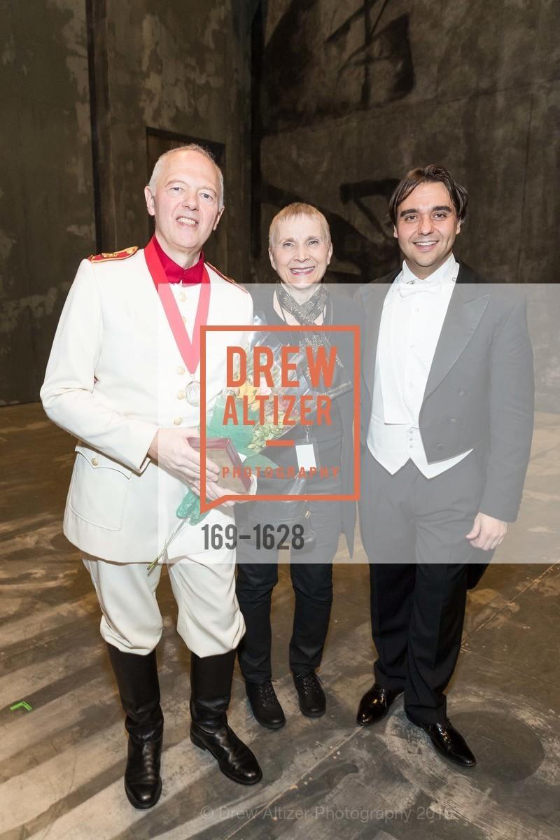 Extras, San Francisco Opera Medal presentation and Company party, December 6th, 2016, Photo