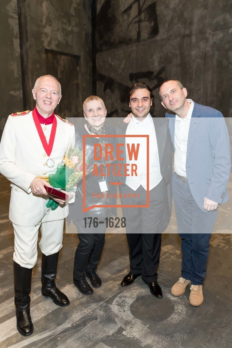 Extras, San Francisco Opera Medal presentation and Company party, December 6th, 2016, Photo