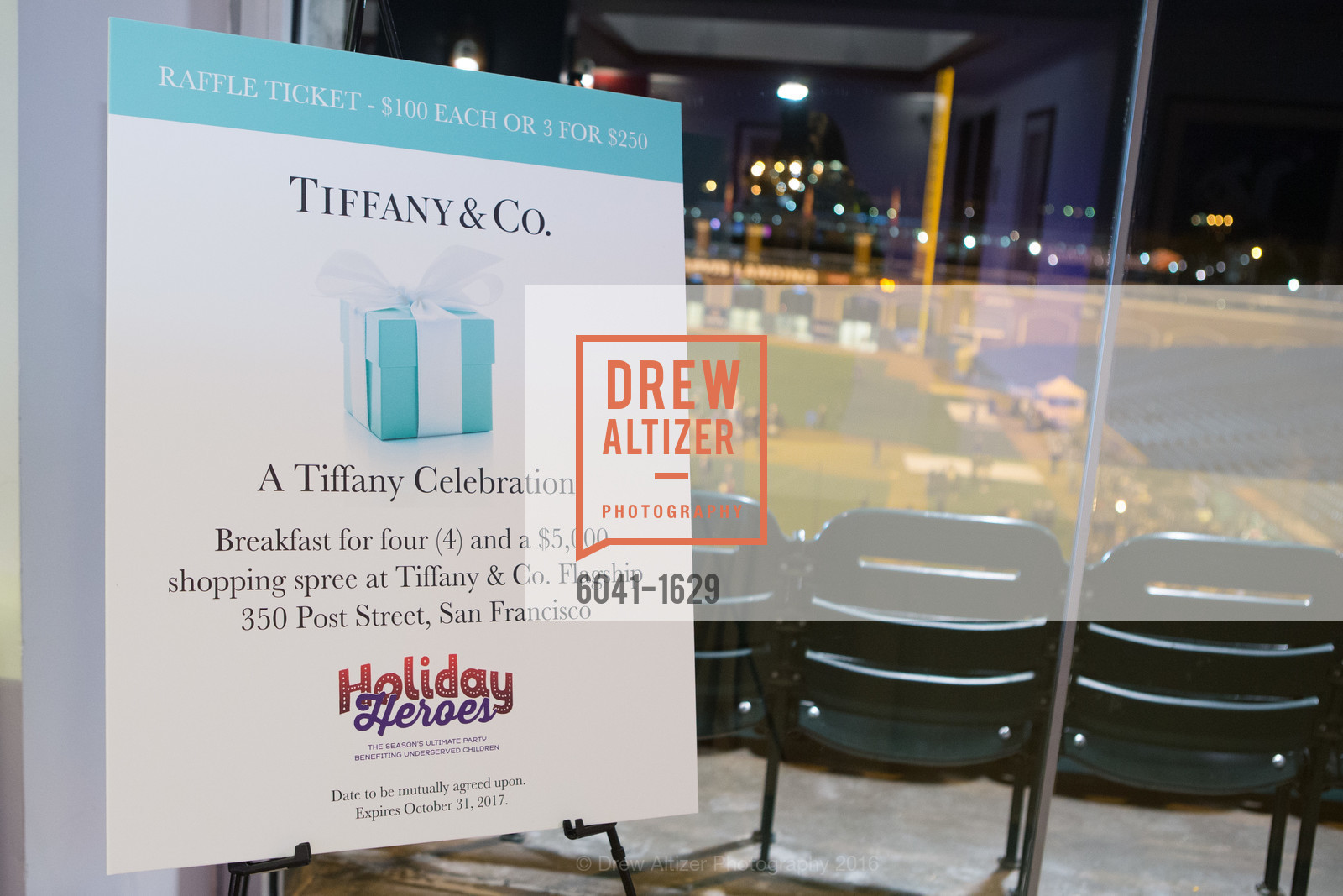 Atmosphere, Wender Weis Foundation for Children's  Holiday Heroes 2016, AT&T Park. 2525 Van Ness St, December 5th, 2016