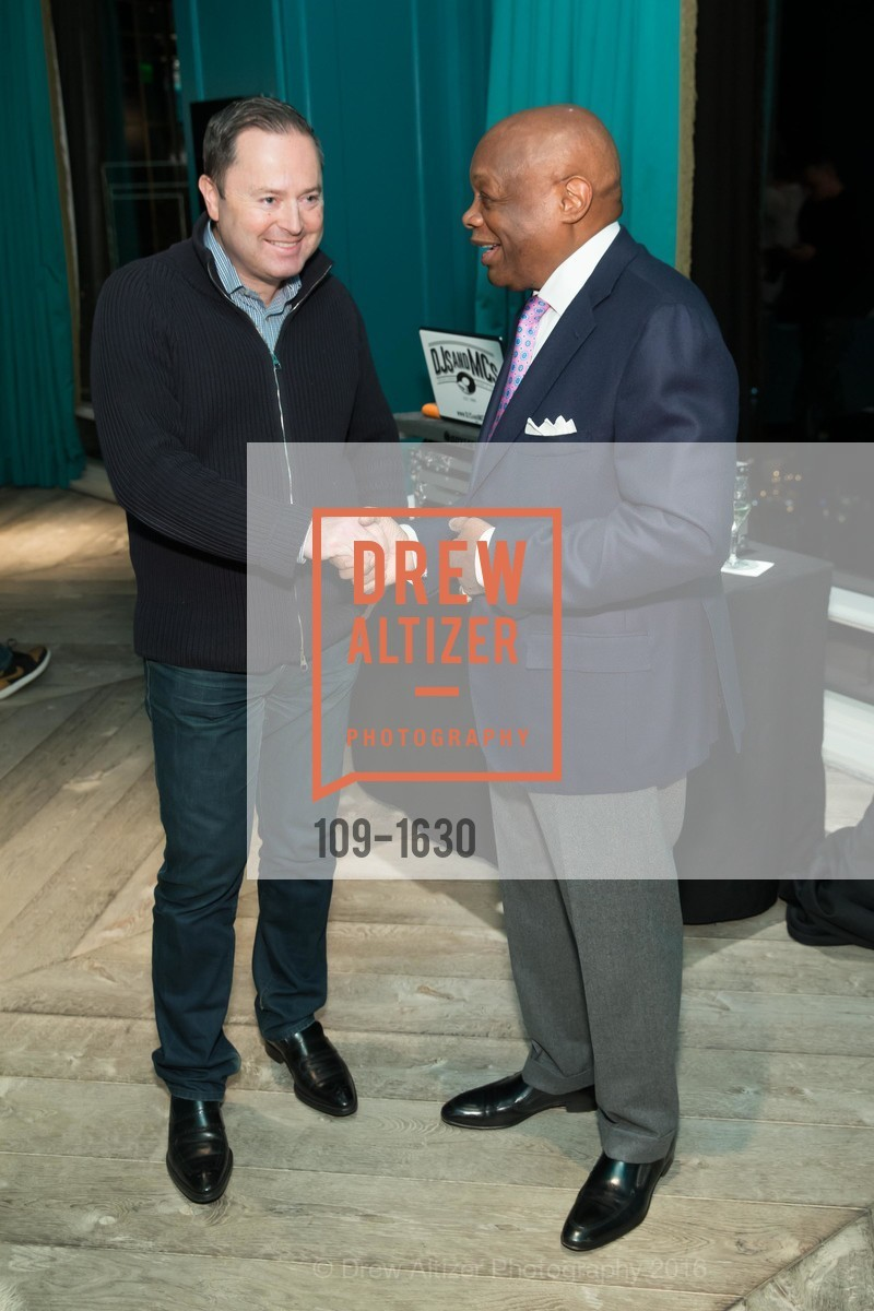 Edward Dubrovsky, Willie Brown, Major Obsessions Fashion Project Launch, The Harrison, Uncle Harry's. 401 Harrison St, December 7th, 2016