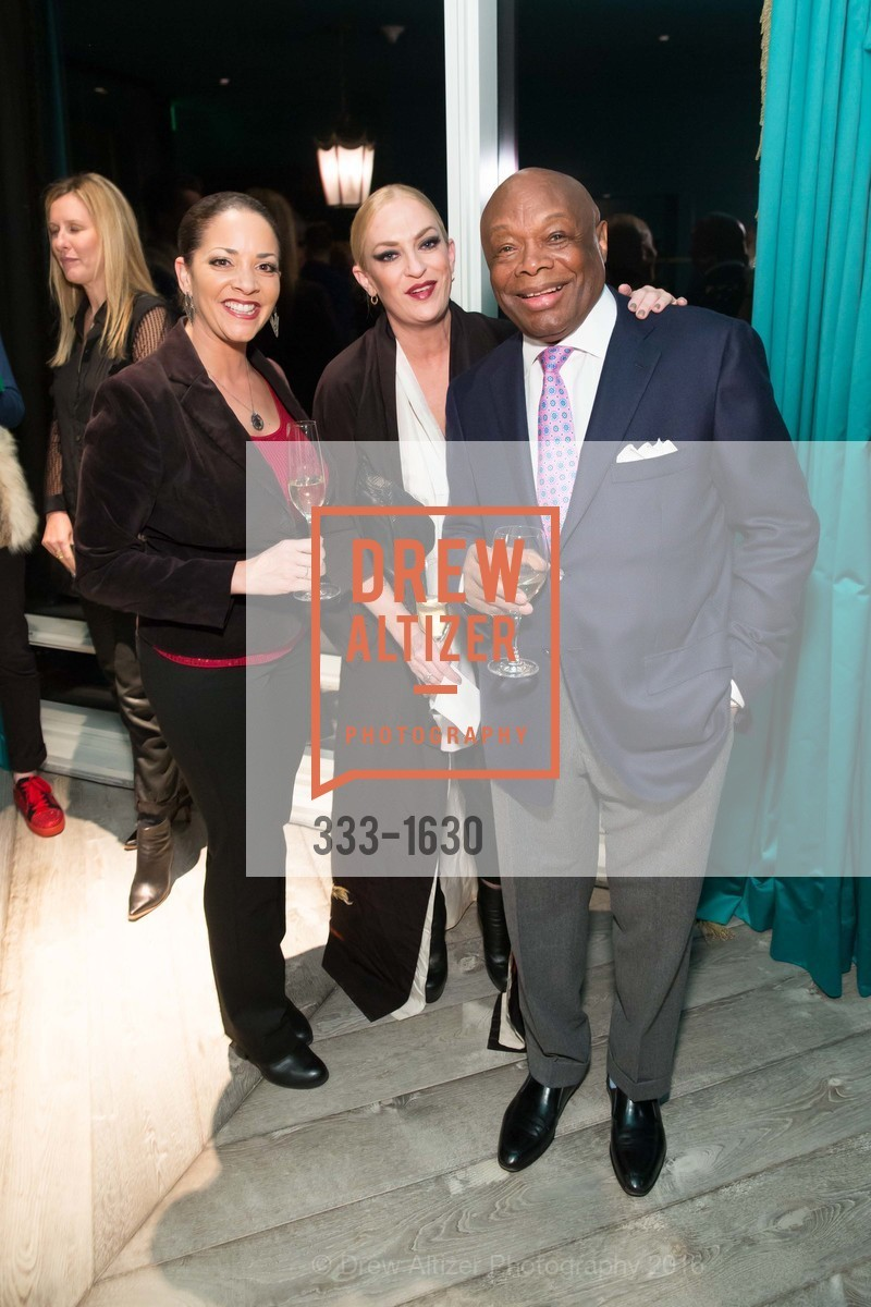 Amber Johnson, Maria Mulligan, Willie Brown, Major Obsessions Fashion Project Launch, The Harrison, Uncle Harry's. 401 Harrison St, December 7th, 2016