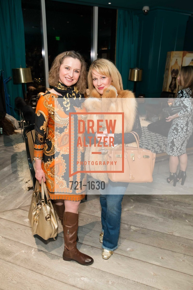 Anjelika Koulebakina, Kana Mckee, Major Obsessions Fashion Project Launch, The Harrison, Uncle Harry's. 401 Harrison St, December 7th, 2016