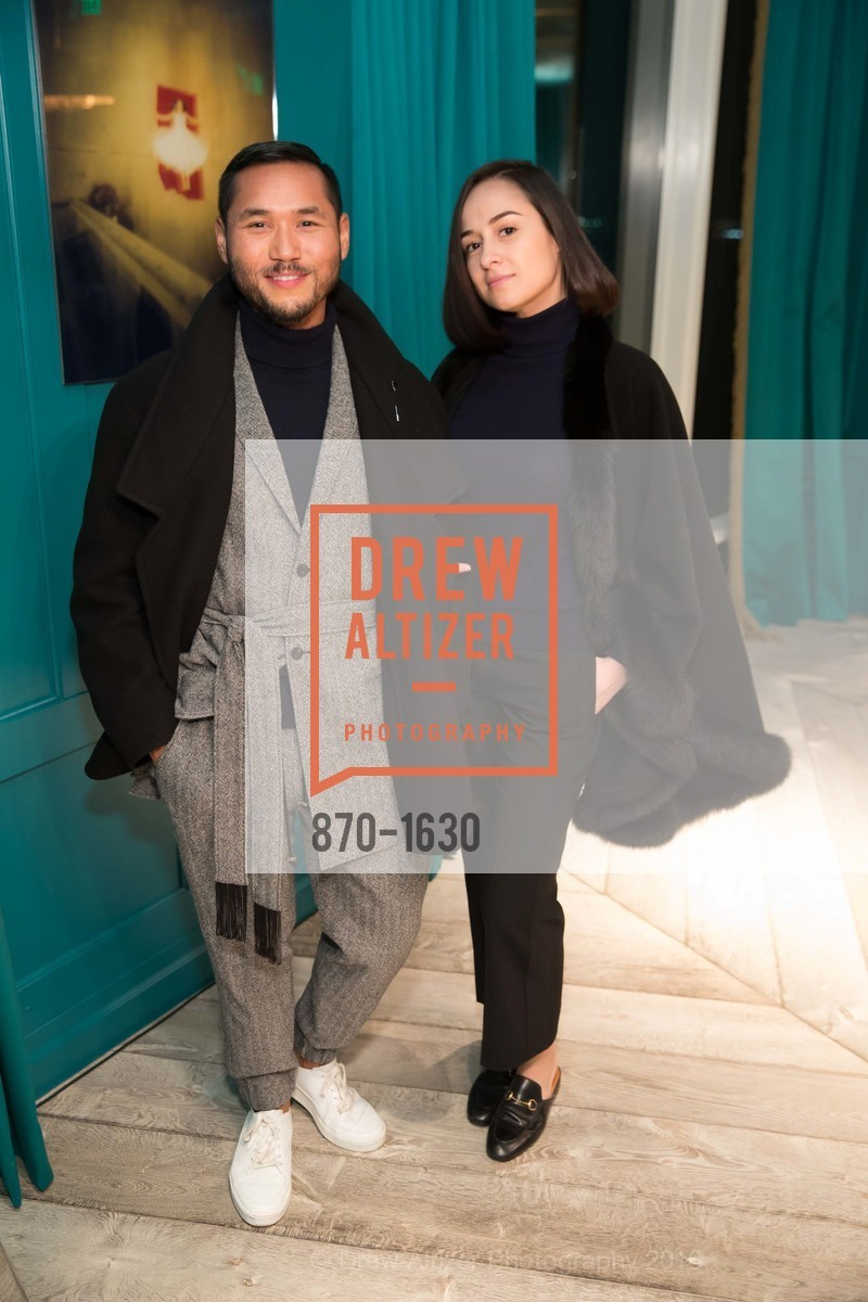 Ian Raz, Margret Holcomb, Major Obsessions Fashion Project Launch, The Harrison, Uncle Harry's. 401 Harrison St, December 7th, 2016