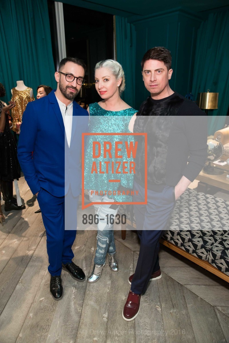 Stephan Rabomov, Sonya Molodetskaya, Aubrey Brewster, Major Obsessions Fashion Project Launch, The Harrison, Uncle Harry's. 401 Harrison St, December 7th, 2016
