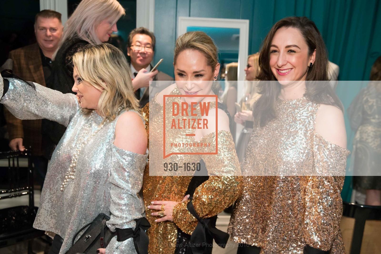 Rada Katz, Brenda Zarate, Jeannie Gutierrez, Major Obsessions Fashion Project Launch, The Harrison, Uncle Harry's. 401 Harrison St, December 7th, 2016