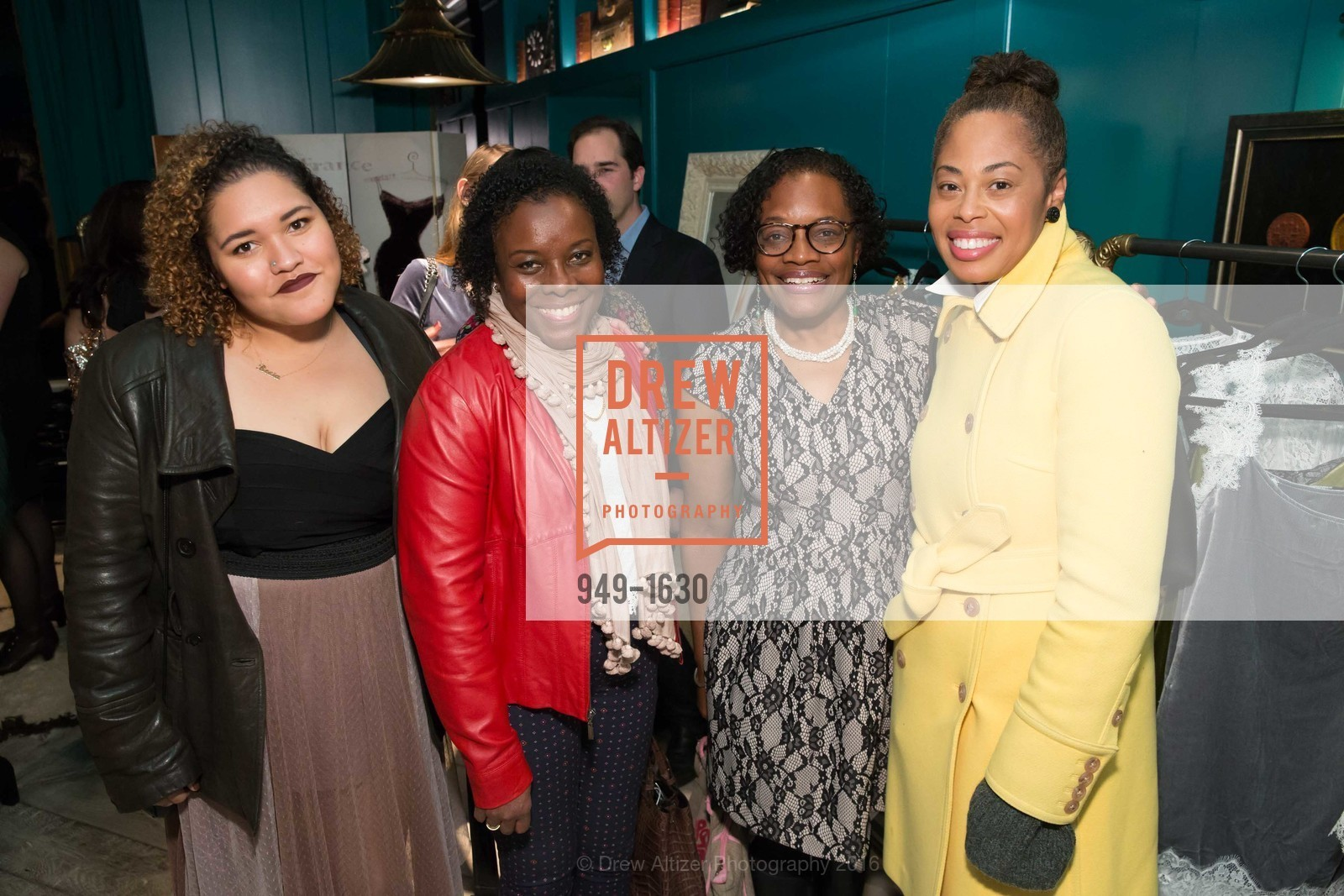 Robin Brown, Susan Brown, Isabella Brown, Major Obsessions Fashion Project Launch, The Harrison, Uncle Harry's. 401 Harrison St, December 7th, 2016