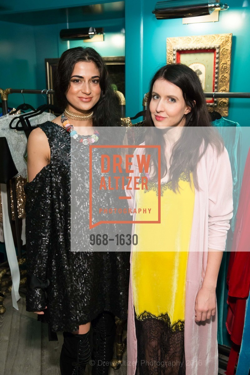 Asha Raval, Juliana Stoy, Major Obsessions Fashion Project Launch, The Harrison, Uncle Harry's. 401 Harrison St, December 7th, 2016