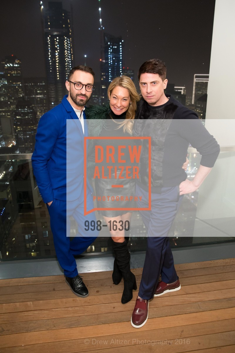 Stephan Rabimov, Tiffany Cummins, Aubrey Brewster, Major Obsessions Fashion Project Launch, The Harrison, Uncle Harry's. 401 Harrison St, December 7th, 2016