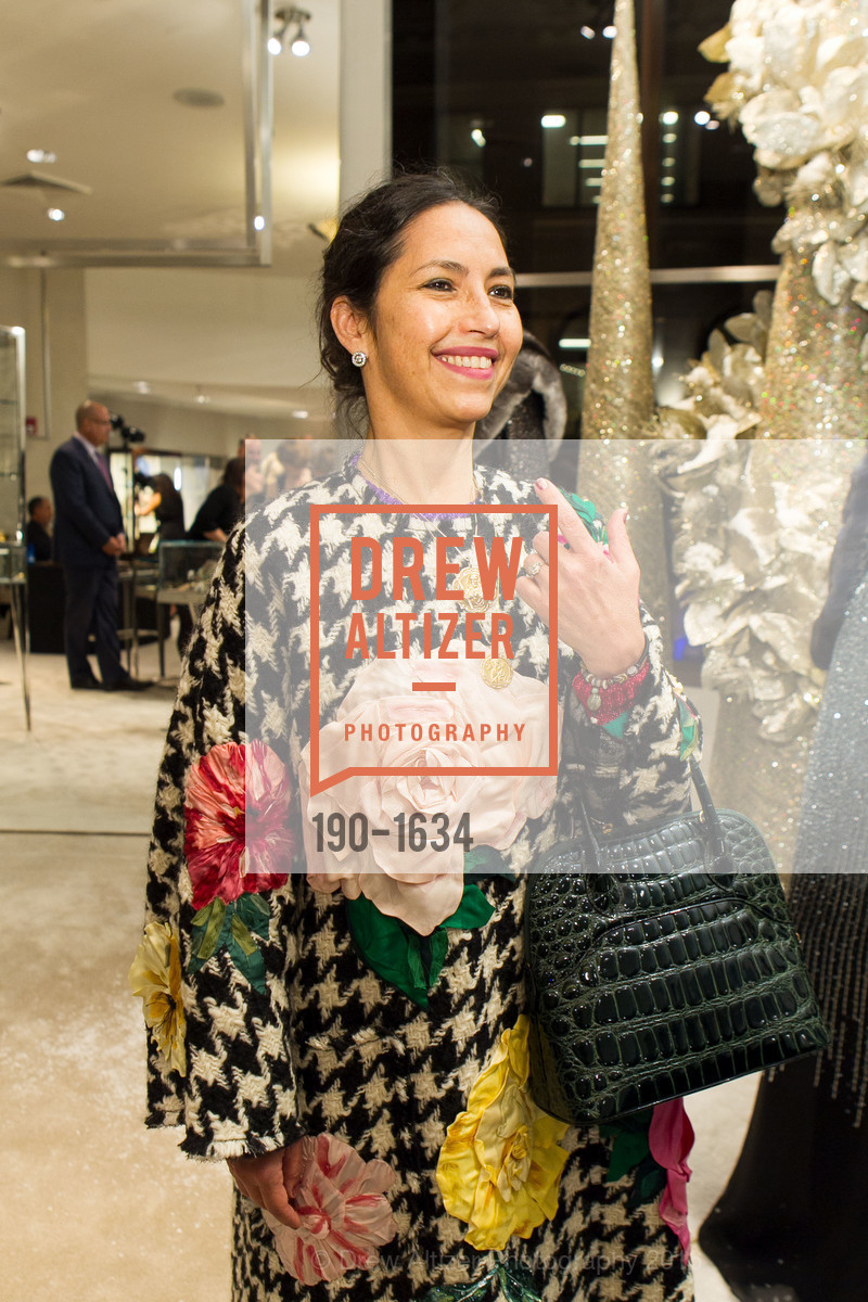 Maya Meux, Saks Fifth Avenue Private Shopping Night, Saks Fifth Avenue. 384 Post St, December 7th, 2016