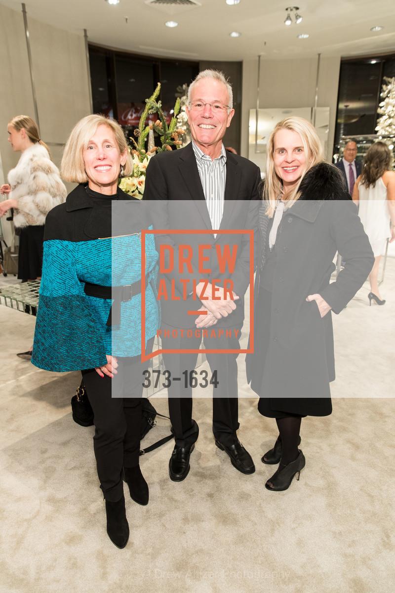 Kathy Huber, Larry Binkley, Jane Mudge, Photo #373-1634