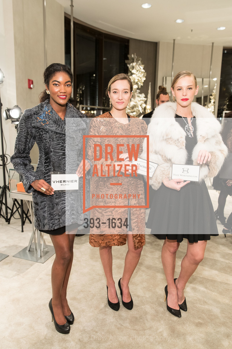 Sydney Reed, Lolly Howie, Molly Kucera, Saks Fifth Avenue Private Shopping Night, Saks Fifth Avenue. 384 Post St, December 7th, 2016