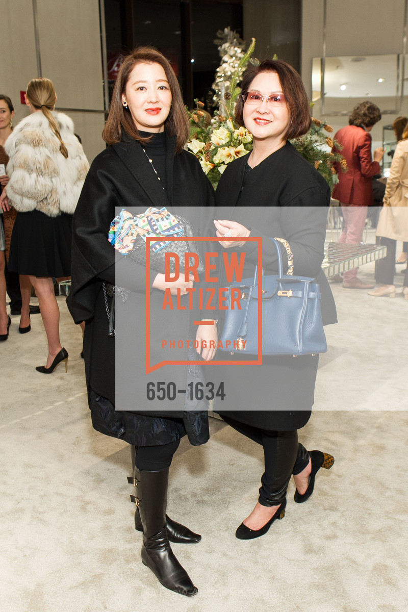 Tiffany Wang, Elaine Yang, Saks Fifth Avenue Private Shopping Night, Saks Fifth Avenue. 384 Post St, December 7th, 2016
